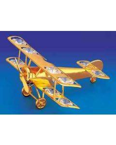 Crystal Airplane Ornament