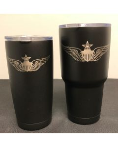 Senior Aviator Wing Tumbler