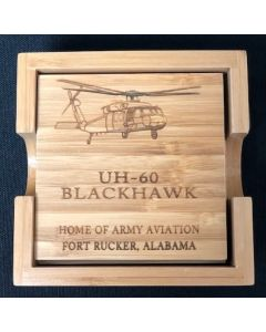 UH-60M Wood Coasters