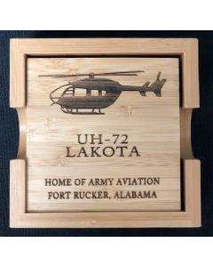 UH-72 Wood Coasters