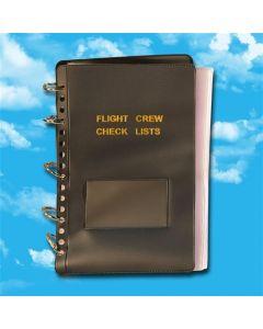 25pg Flight Crew Checklist, Blue Cover