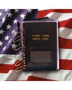 55pg Flight Crew Checklist, Blue Cover