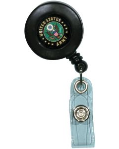 US ARMY RETRACTABLE BADGE HOLDER