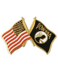 US/POW FLAG PIN