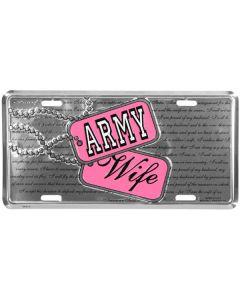 ARMY WIFE W/DOG TAGS