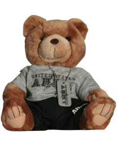 U.S. ARMY STUFFED BEAR