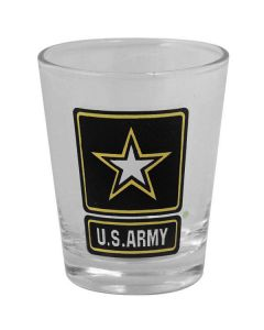 ARMY LOGO SHOT GLASS