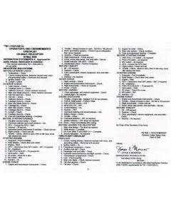 OH-58 A/C Checklist