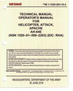 AH-64D Mini -10 E Model Version 4 Full Color