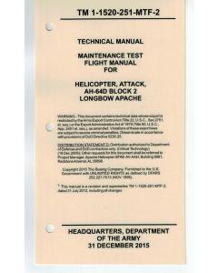 AH-64D Block 2 MTF Checklist- Water/Tear Proof Paper