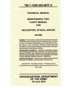 AH-64E MTF Version 4 Checklist- Water/Tear Proof Paper