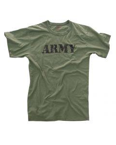 ARMY OD VINTAGE T-SHIRT