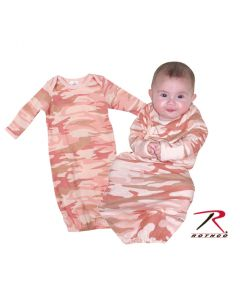 INFANT SLEEPER- PINK CAMO