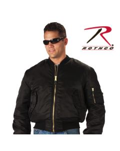 MA-1 FLIGHT JACKETS, BLACK