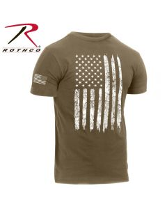 US Flag T-shirt- Coyote