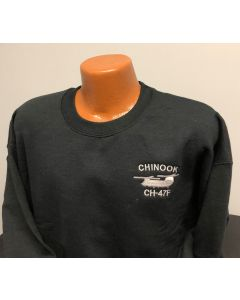 CH-47F Embroidered Sweatshirt
