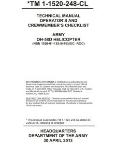 OH-58D Checklist