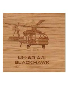 UH-60 Wood Coasters