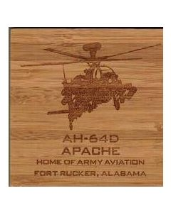 AH-64D Wood Coasters