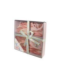 PINK CAMO INFANT GIFT SET