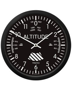"10"" Altimeter Wall Clock"