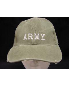VINTAGE OD ARMY HAT