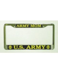 ARMY MOM LICENSE PLATE FRAME