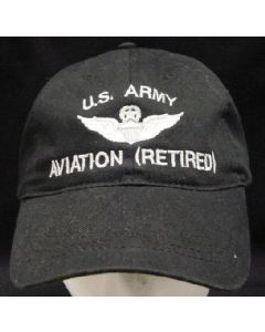 """U.S. ARMY AVIATION"" MASTER AVIATOR WINGS- RETIRED"