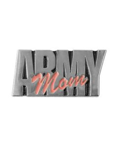Army Mom Pin