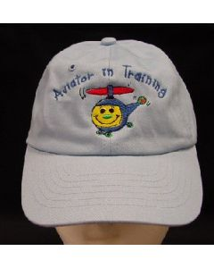 AVIATOR IN TRAINING EMB HAT- BLUE