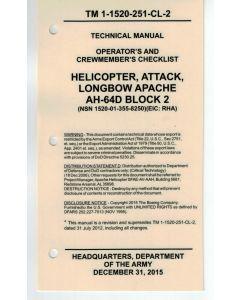 AH-64D Block 2 Checklist- Cardstock