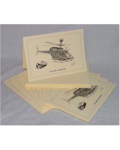 OH-58D WARRIOR NOTECARDS