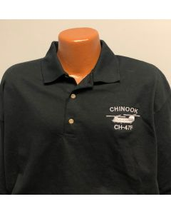 CH-47 Embroidered Polo