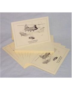 CH-47D CHINOOK NOTECARDS