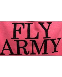 Fly Army Pink Hoodie