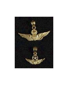 Master Aviator Wing Charm- Gold