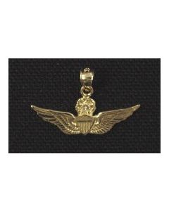 MASTER AVIATOR WING CHARM WITH DIAMOND