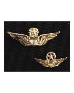 Master Aviator Wing Tie Tack- Gold