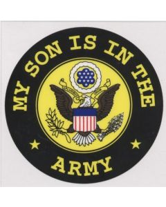 """MY SON IS IN THE ARMY"" DECAL"