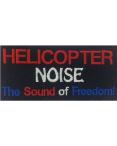 HELICOPTER NOISE PATCH