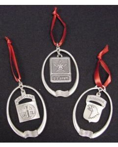 MISC PEWTER ORNAMENTS