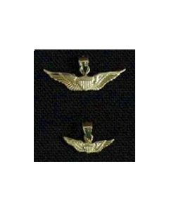 Regular Aviator Wing Charm- Gold