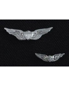 Regular Aviator Wing Tie Tack- Sterling Silver