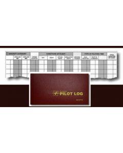 STANDARD PILOT LOG, BURGUNDY