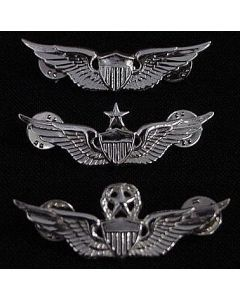 Sterling Silver Regulation Size Pin