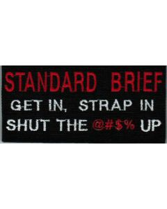 STANDARD BRIEF PATCH