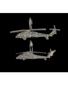 Blackhawk Charm- Sterling Silver