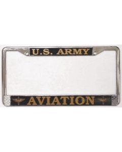 ARMY AVIATION LICENSE PLATE FRAME